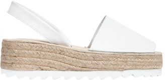 50mm Ibiza Leather Slingback Espadrilles $126 thestylecure.com