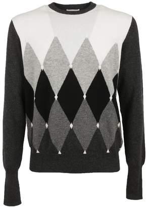 Ballantyne Diamond Pattern Sweater