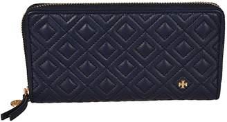 Tory Burch Quilted Pattern Zip-around Wallet