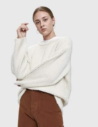 LAUREN MANOOGIAN Knitweave Crewneck Sweater