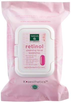 Earth Therapeutics 30-ct. Retinol Cleansing & Makeup Removing Facial Towelettes