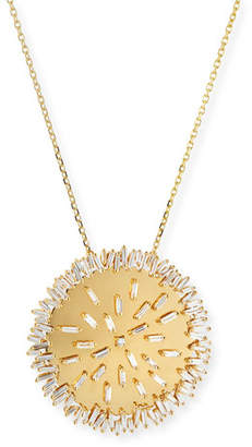 Suzanne Kalan 18k Medallion Diamond Pendant Necklace