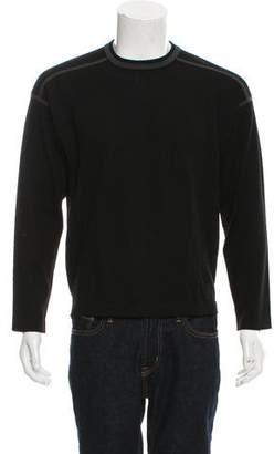 Zegna Sport Wool Crew Neck Sweater