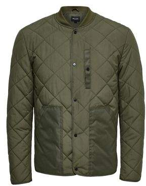 ONLY & SONS Quilted Snap Jacket