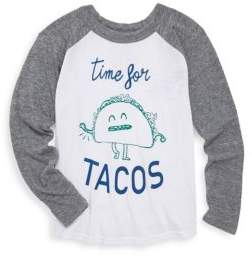 Chaser Toddler's, Little Boy's& Boy's Time For Tacos Tee