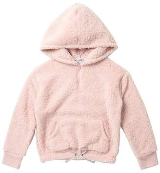 Ten Sixty Sherman Long Sleeve Wooby Fuzzy Hoodie (Big Girls)