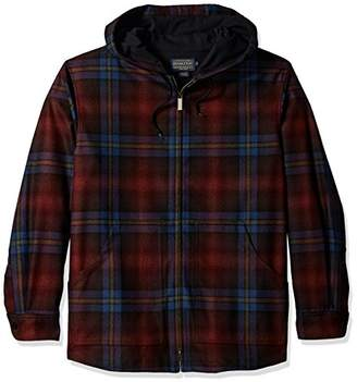 Pendleton Men's Long Sleeve Zip Up Wool Hoody