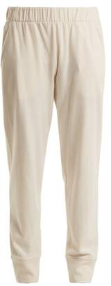 The Row - Debie Wool Blend Track Pants - Womens - Cream