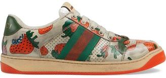 Gucci Screener Strawberry sneaker