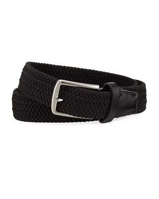Nike Stretch Woven 35mm Belt, Black