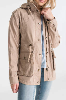 Ardene Hooded Light Utilitarian Jacket