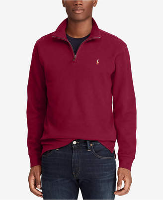 Polo Ralph Lauren Men Big & Tall Half-Zip Pullover