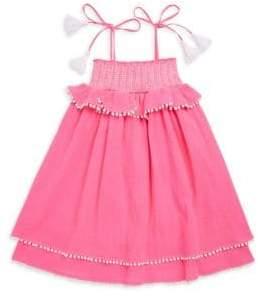 Little Girl's & Girl's Smocked Cotton Dress