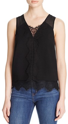 Whistles Yasmin Lace Trim Cami - 100% Bloomingdale's Exclusive $250 thestylecure.com