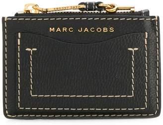 Marc Jacobs The Grind top zip wallet