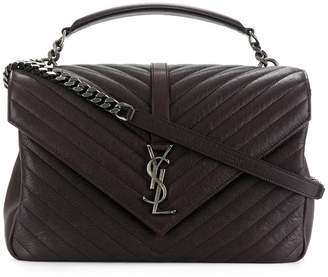 Saint Laurent medium Collège Monogram quilted effect bag