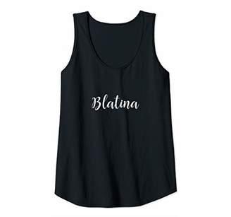 Womens Womens Womens Latina Latinx Blatina T shirt Tank Top