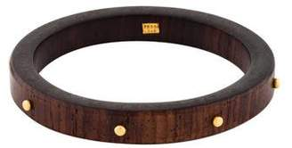 Yossi Harari 24K Studded Wood Bangle