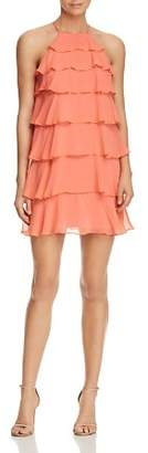 Bailey 44 Delectable Tiered Ruffle Silk Dress