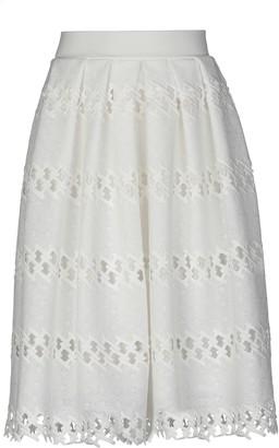 Clips Knee length skirts