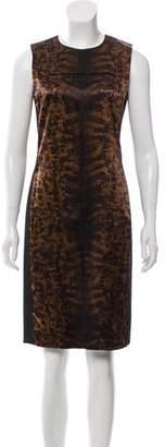 Reed Krakoff Satin Sleeveless Dress