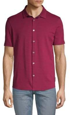 Emporio Armani Button Down Jersey Polo