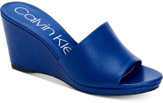 Calvin Klein Women's Britta Wedge Sandals