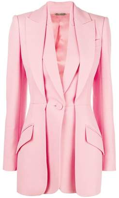 Alexander McQueen double-lapel tailored jacket