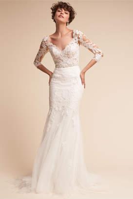 Pronovias Pique Gown