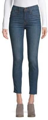 Madewell High-Rise Raw-Hem Skinny Jeans