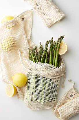 Ever Eco 4-Pack Organic Cotton Net Produce Bags