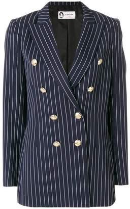 Lanvin double-breasted striped blazer