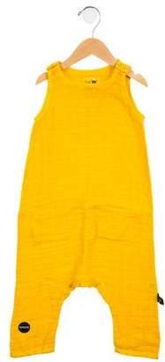 Nununu Girls' Sleeveless Jumpsuit