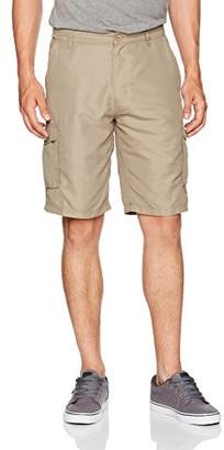 Burnside Men's Haze Printed Microfiber Cargo Short