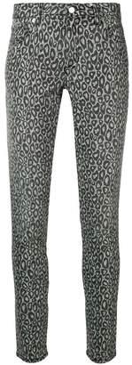 MICHAEL Michael Kors leopard print skinny trousers