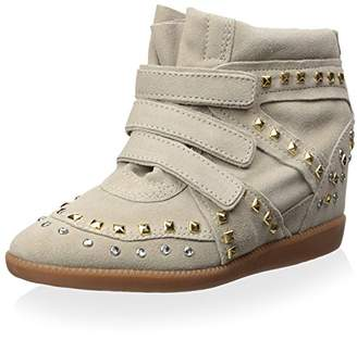 Schutz Women's Wedge Fashion Sneaker