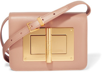 TOM FORD - Natalia Mini Leather Shoulder Bag - Baby pink $4,190 thestylecure.com
