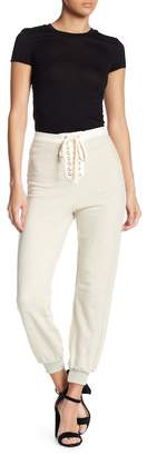 Endless Rose High Waist Lace-Up Joggers