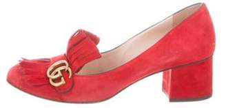 Gucci GG Marmont Pumps Red GG Marmont Pumps