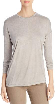 Lafayette 148 New York Long Sleeve Tissue Knit Top