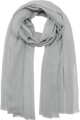 Marina D'Este Solid Wool & Cashmere Pashmina