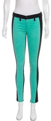 Rag & Bone Mid-Rise Colorblock Jeans