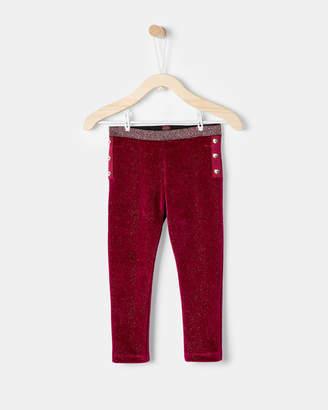 Ted Baker NADDINE Velvet sparkle leggings