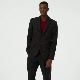 Club Monaco Grant Plaid Holiday Blazer