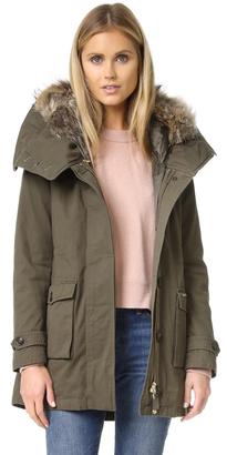 Woolrich Scarlett Eskimo Coat $850 thestylecure.com