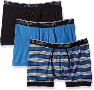 2xist mens Cotton Stretch 3 Pack Boxer Brief