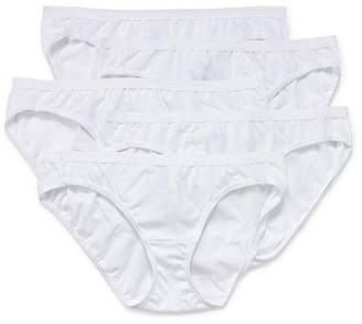 Hanes Ultimate Cool Comfort Cotton Ultra Soft 5 Pair Knit Hipster Panty 42hucc
