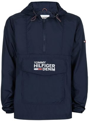 HILFIGER DENIM Navy Overhead Jacket