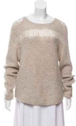 Raquel Allegra Rib Knit Wool Sweater