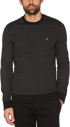 Original Penguin HERRINGBONE SWEATSHIRT